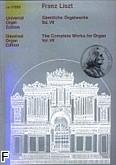 Ok�adka: Liszt Franz, Utwory organowe z. 7