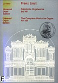 Okładka: Liszt Franz, Utwory organowe z. 8
