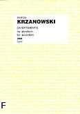 Okładka: Krzanowski Andrzej, Divertimento na akordeon