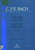 Ok�adka: Bach Carl Philipp Emmanuel, Koncerty na klawesyn i smyczki d-moll BWV 1052a