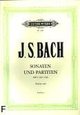 Okładka: Bach Johann Sebastian, Trzy sonaty i trzy partity BWV 1001-1006