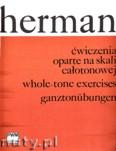 Ok�adka: Herman Stefan, �wiczenia oparte na skali ca�otonowej