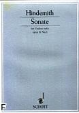 Okładka: Hindemith Paul, Sonata op. 31 nr 1