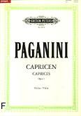Ok�adka: Paganini Niccolo, 24 kaprysy op. 1