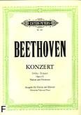 Ok�adka: Beethoven Ludwig van, Koncert D-dur op. 61 na skrzypce i orkiestr� (wyc. fort.)
