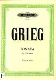 Okładka: Grieg Edward, Sonaty skrzypcowe nr 2 G-dur op. 13