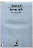 Ok�adka: Hindemith Paul, Sonata in Es op. 11 nr 1