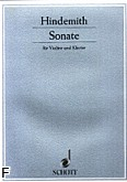 Ok�adka: Hindemith Paul, Sonata (1939)