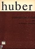 Okładka: Huber Adolph, Concertino F-dur op. 7