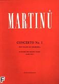 Okładka: Martinů Bohuslav, I Koncert na skrzypce i orkiestrę