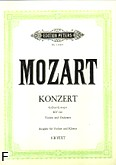Ok�adka: Mozart Wolfgang Amadeusz, III Koncert G-dur KV 216 na skrzypce i orkiestr�