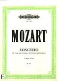 Okładka: Mozart Wolfgang Amadeusz, III Koncert G-dur KV 216 na skrzypce i orkiestrę