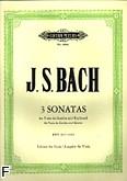 Okładka: Bach Johann Sebastian, Trzy sonaty na altówkę i b.c., BWV 1027-1029