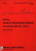 Ok�adka: Brahms Johannes, Sonata f-moll op. 120