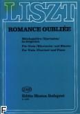 Okładka: Liszt Franz, Romanze oubliee