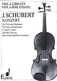Okładka: Schubert Joseph, Koncert C-dur na altówkę i orkiestrę