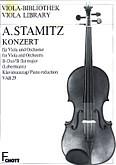 Okładka: Stamic Anton, Koncert B-dur na altówkę i orkiestrę smyczkową