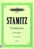 Okładka: Stamic Karel, Koncert D-dur na altówkę i orkiestrę