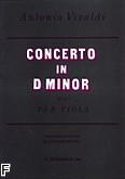 Okładka: Vivaldi Antonio, Koncert d-moll op. 3, nr 6 na altówkę i fortepian