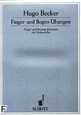 Ok�adka: Becker Hugo, Finger und Bogen �bungen
