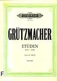 Ok�adka: Gr�tzmacher Friedrich, Etiudy op. 38, z. 2