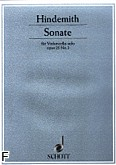 Ok�adka: Hindemith Paul, Sonata op. 25 nr 3