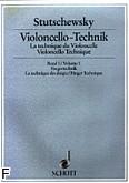 Okładka: Stutschewsky Joachim, Violoncello-technik