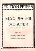 Ok�adka: Reger Max, Trzy suity G-dur, d-moll, a-moll op. 131c