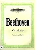 Okładka: Beethoven Ludwig van, Wariacje
