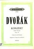 Okładka: Dvořák Antonin, Koncert h-moll op. 104 na wiolonczelę i orkiestrę (wyc.fort.)