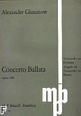 Ok�adka: G�azunow Aleksander, Concerto-ballata C-dur op. 108