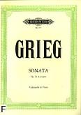 Okładka: Grieg Edward, Sonata a-moll op. 36