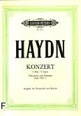 Okładka: Haydn Franz Joseph, Koncert C-dur Hob.VIIb:1 na wiolonczelę i orkiestrę (wyc.fort.)