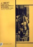 Ok�adka: Ibert Jacques, Koncert na wiolonczel� i orkiestr�