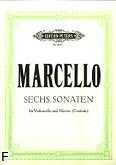 Ok�adka: Marcello Benedetto, 6 sonat na wiolonczel� i b.c.