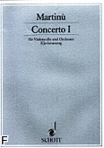 Ok�adka: Martin� Bohuslav, I koncert wiolonczelowy