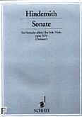 Ok�adka: Hindemith Paul, Sonata, op. 31 nr 4
