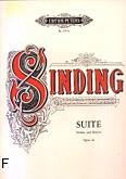 Okładka: Sinding Christian, Suita a-moll op. 10