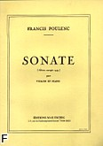 Okładka: Poulenc Francis, Sonata a la memoire de Lorca