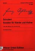 Ok�adka: Schubert Franz, Sonaty op. 137 i op. 162