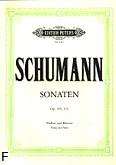 Ok�adka: Schumann Robert, I Sonata a-moll, II Sonata d-moll op. 105, op. 121