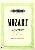 Ok�adka: Mozart Wolfgang Amadeusz, VI Koncert Es-dur KV 268 na skrzypce i orkiestr�