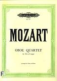 Ok�adka: Mozart Wolfgang Amadeusz, Kwartet F-dur KV 370 na ob�j, skrzypce, alt�wk� i wiolonczel�