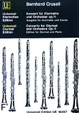 Okładka: Crusell Bernhard Henrik, Koncert B-dur op. 11 na klarnet i orkiestrę