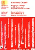 Ok�adka: Crusell Bernhard Henrik, Koncert op. 1 na klarnet i orkiestr�