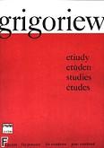 Ok�adka: Grigoriev Borys, Etiudy na puzon