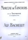 Ok�adka: Bachelet Alfonso, Morceau de Concours