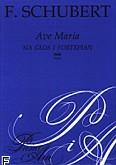 Okładka: Schubert Franz, Ave Maria op. 52 nr 6 na głos i fortepian
