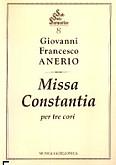 Ok�adka: Anerio Giovanni Francesco, Missa constantia