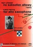 Okładka: Różni, Trzy utwory na saksofon altowy i CD